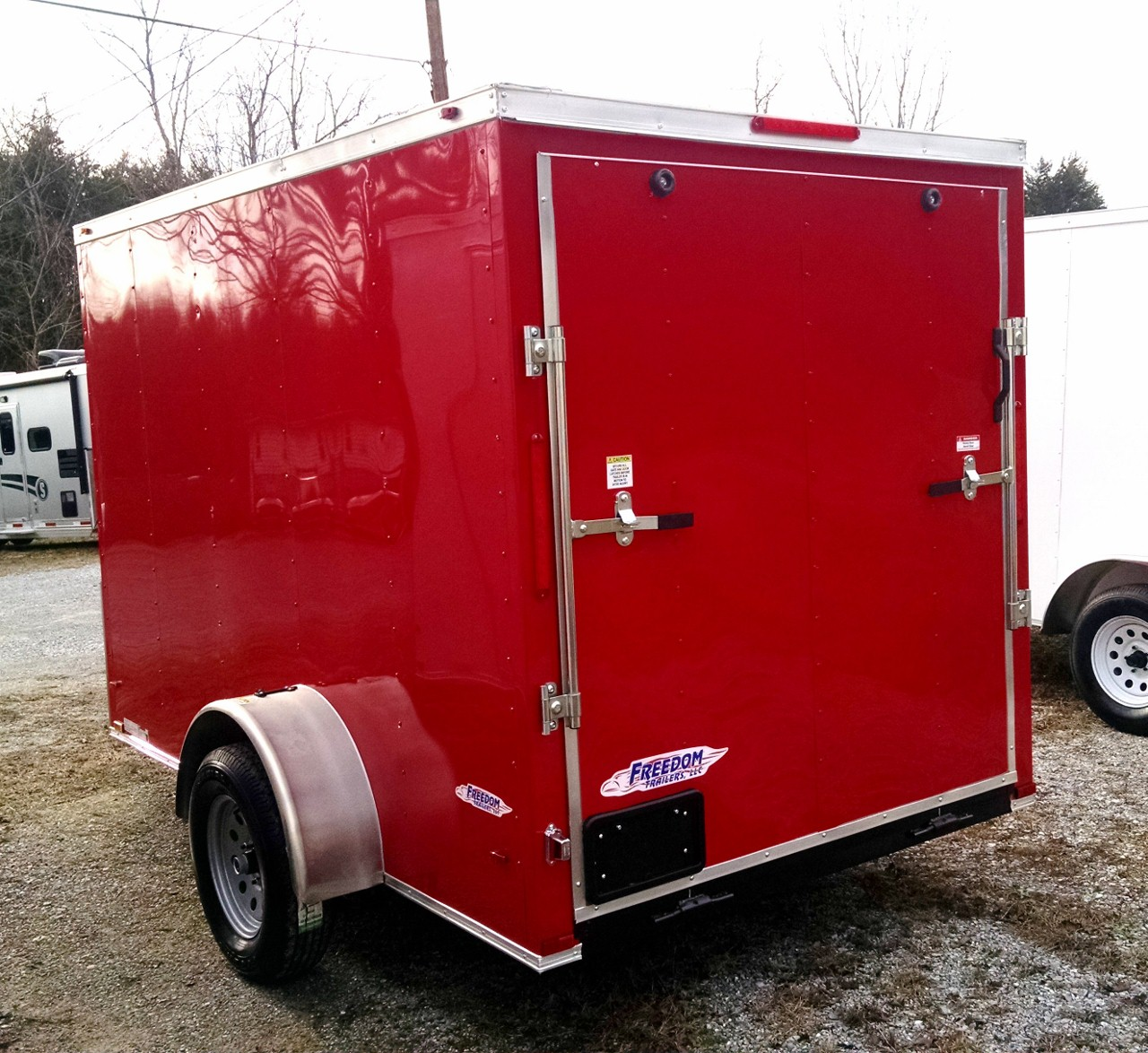 2018 Freedom 6 X 10 Enclosed Cargo Trailer SKU 60123