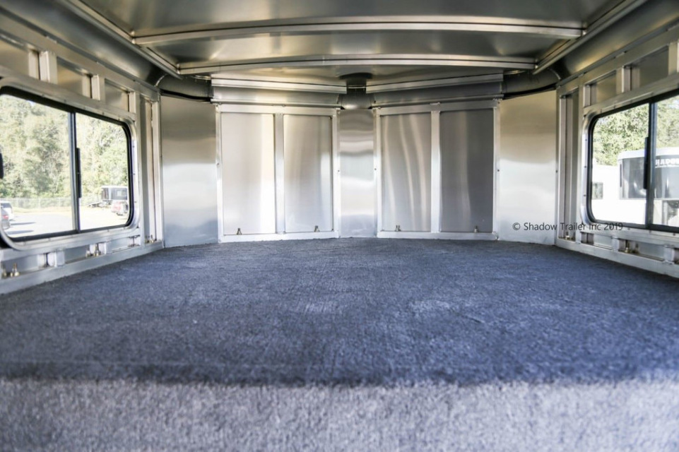 2019 Shadow 24 Foot Stock Trailer With Tack Room