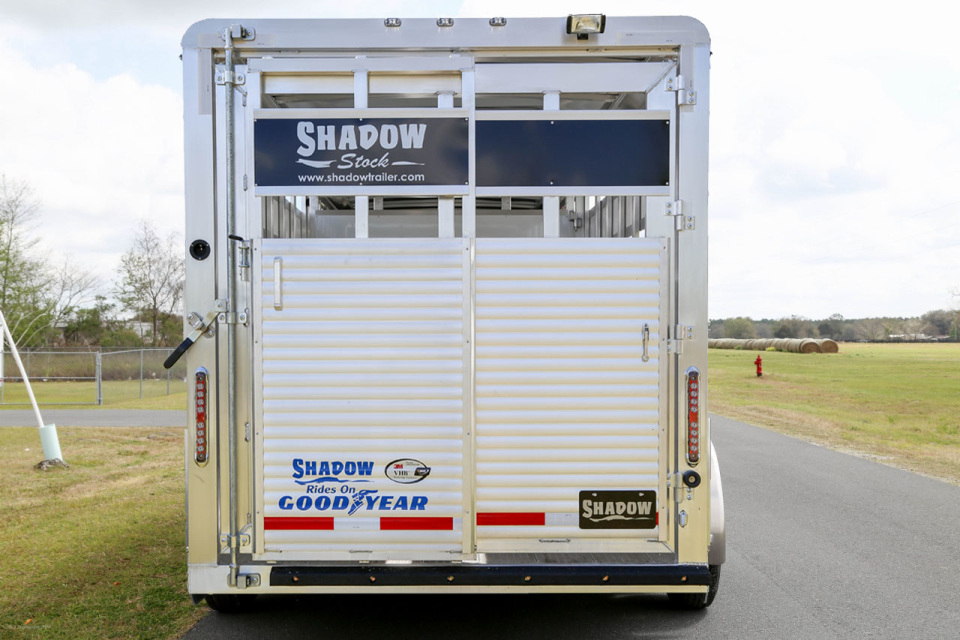 Sold Must Go New Shadow 20 Stock Trailer